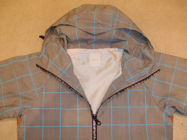 rehacer Seed check jacket blue ft1