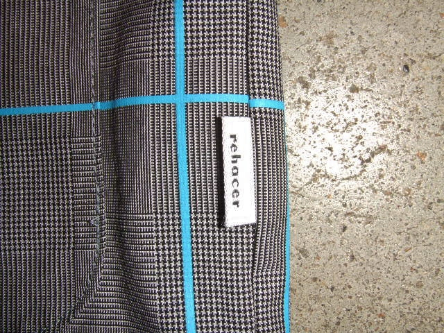 rehacer Seed check jacket blue tg1