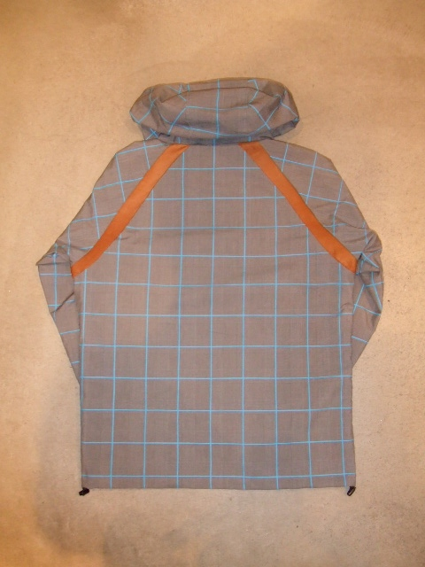 rehacer Seed check jacket blue bk1