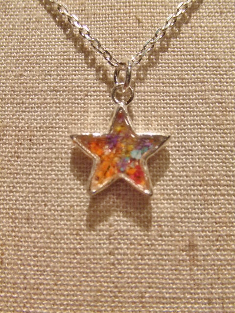 rehacer Flower star necklace FT
