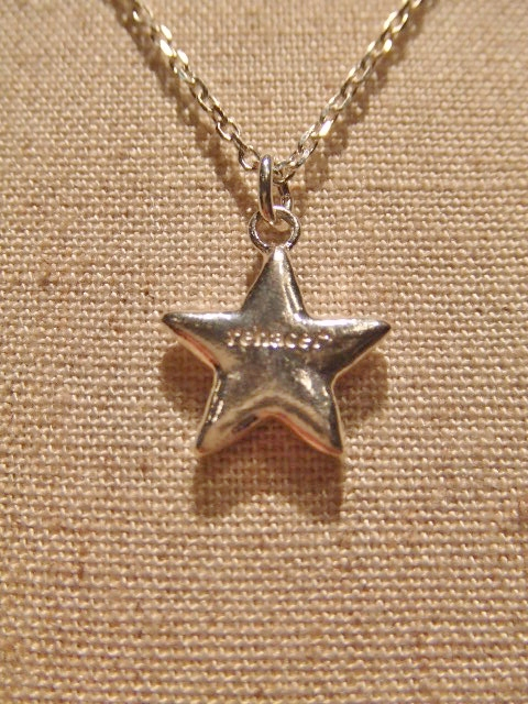 rehacer Flower star necklace BK