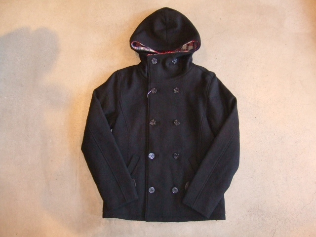 Fast hooded P-coat