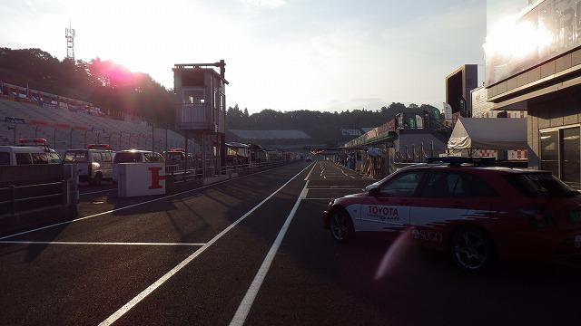 レースの朝その2