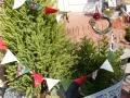 ナンフェア クリスマス柄のミニフラッグ