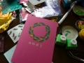 ナンフェア クリスマスカード 2013