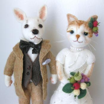 wedding dog & cat 2