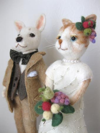 wedding dog & cat 3