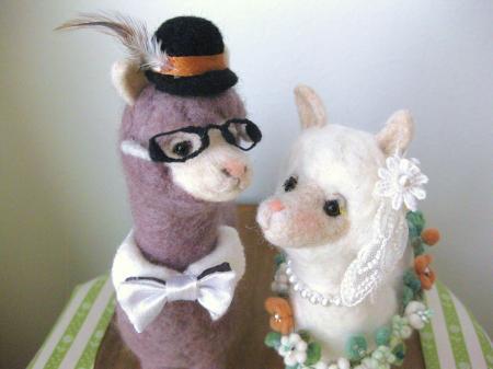 wedding アルパカ×アルパカ 3