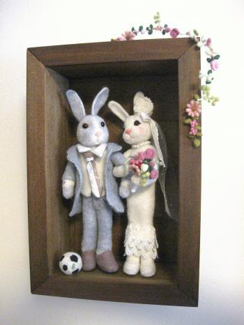wedding うさぎ×うさぎ 4