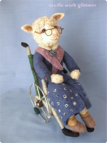 おばあちゃん羊