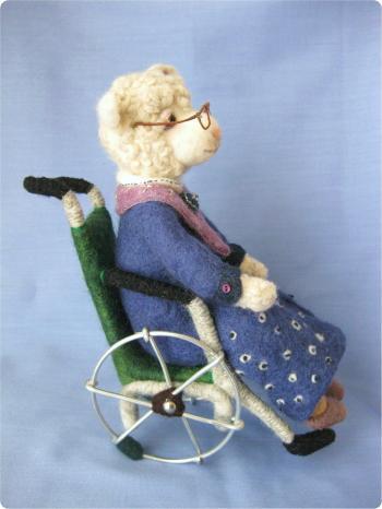 おばあちゃん羊 2