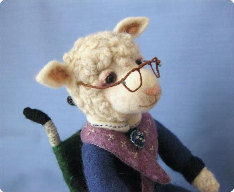 おばあちゃん羊 4