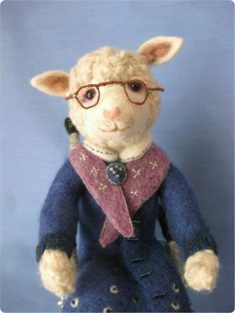 おばあちゃん羊 5