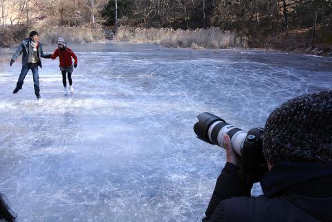 スケート自社撮影