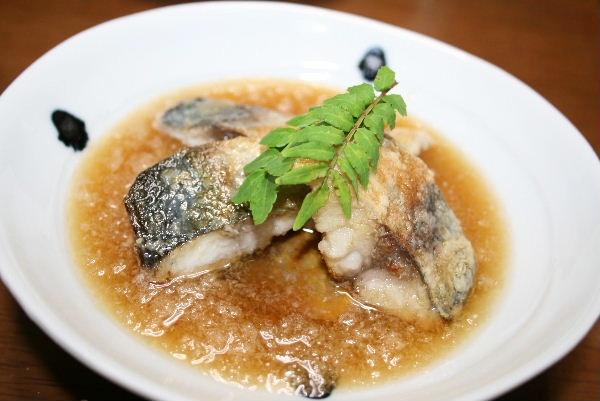 鯖の焼きおろし煮