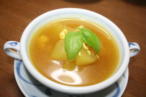 とうがんのスープカレー風味