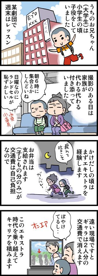子役マンガ1