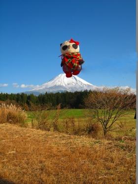 ばぶちゃん富士山やほー