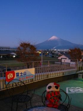 道の駅富士からの眺め