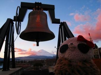 ばぶちゃん愛の鐘の夕暮れ