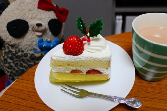 クリスマスケーキはイチゴショート