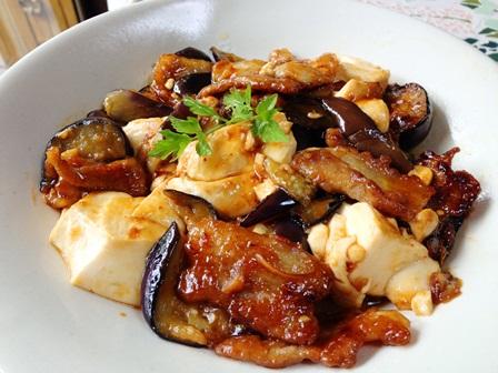 麻婆的豚ナス豆腐