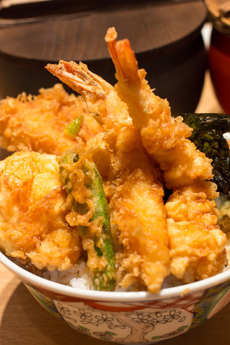 金子屋赤坂店の天丼(10)