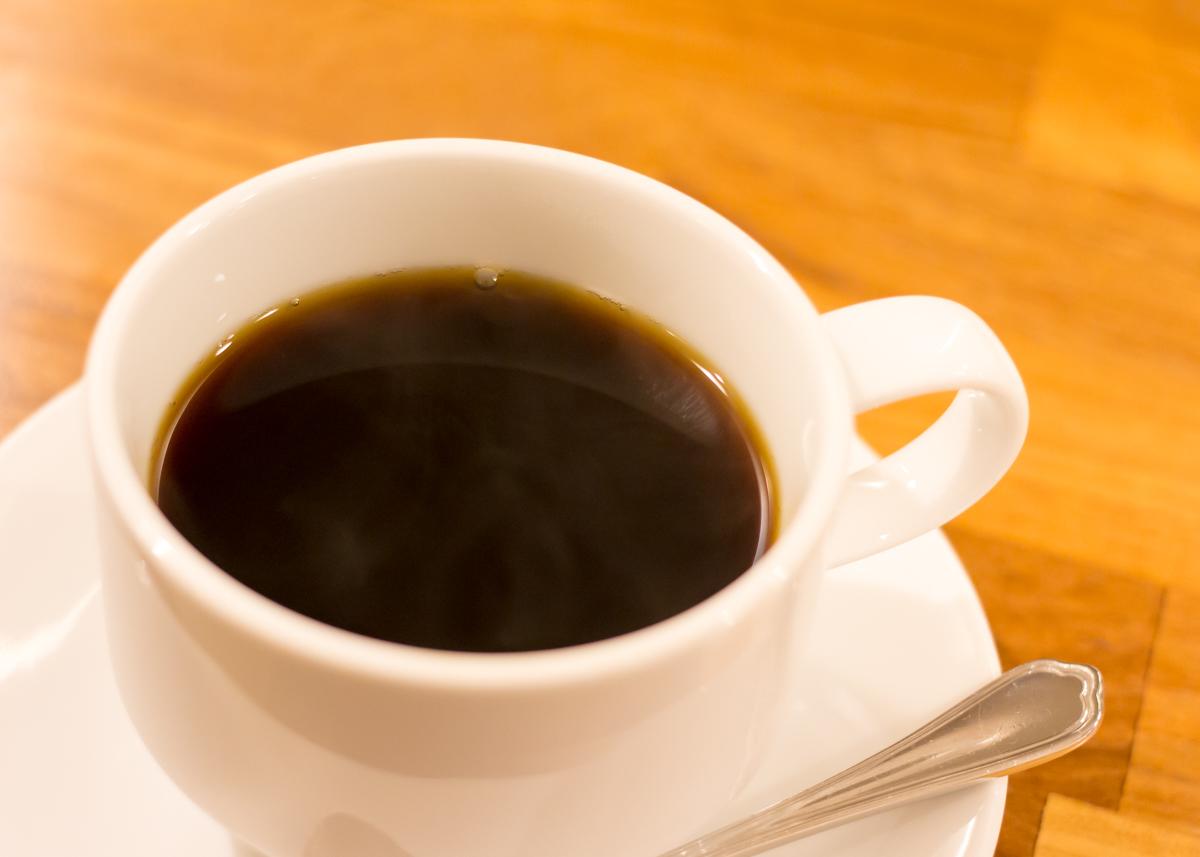 フルフル、ホットコーヒー