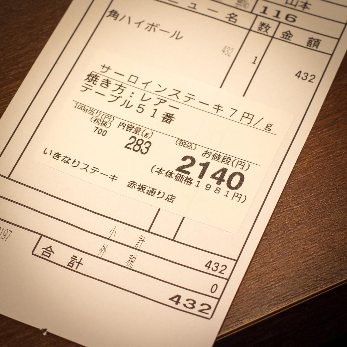 いきなりステーキ(16)
