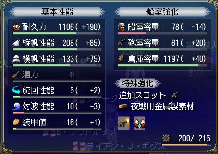 G3副官大福 ステ