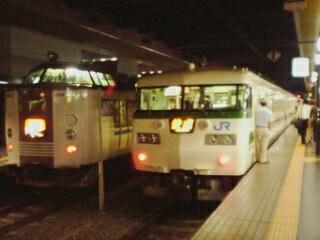 10 117系と山陰本線の特急 京都