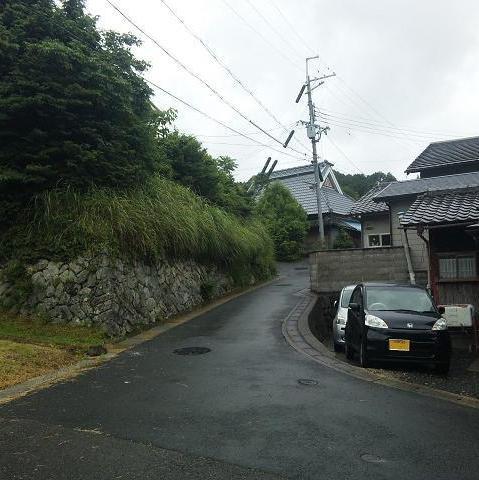 岩本城への道