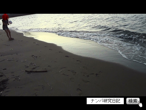 (ナンパ画像) 中学生と海辺を散歩