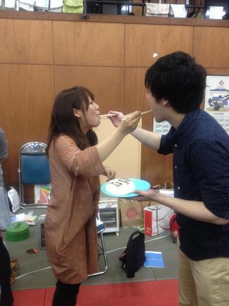松田先輩、咲樹先輩誕生日