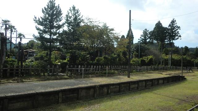 上総中野駅の景色