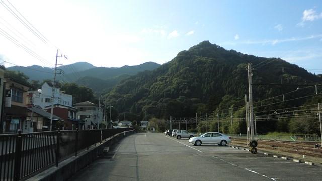 三峰口駅の駐車場