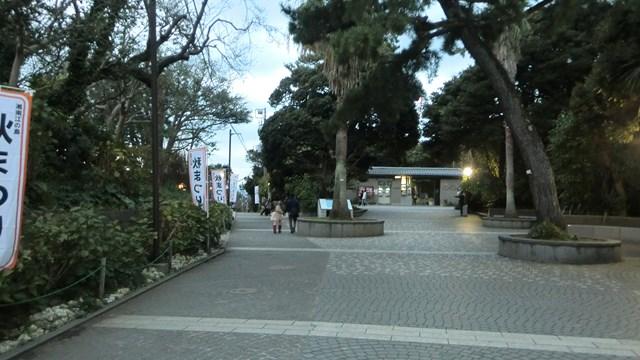 江ノ島サムエル・コッキング苑の入り口
