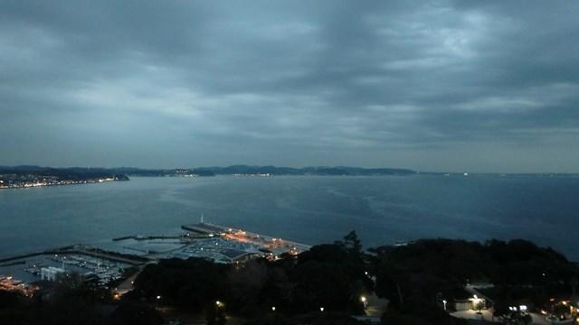江ノ島展望台から眺めた湘南港