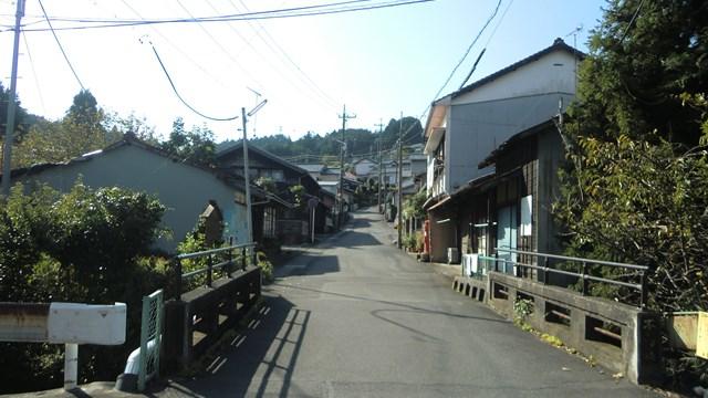 金谷坂町へと続く上り坂