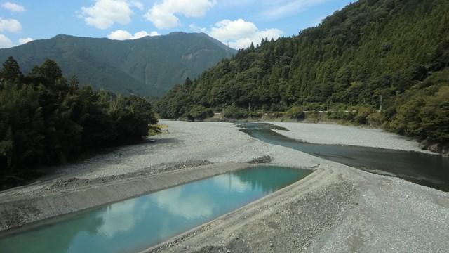 大井川の光景1
