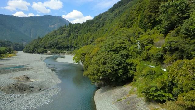大井川の光景2
