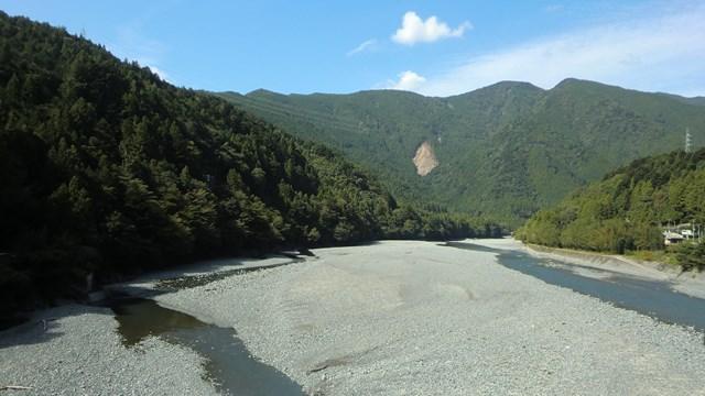 大井川の光景3
