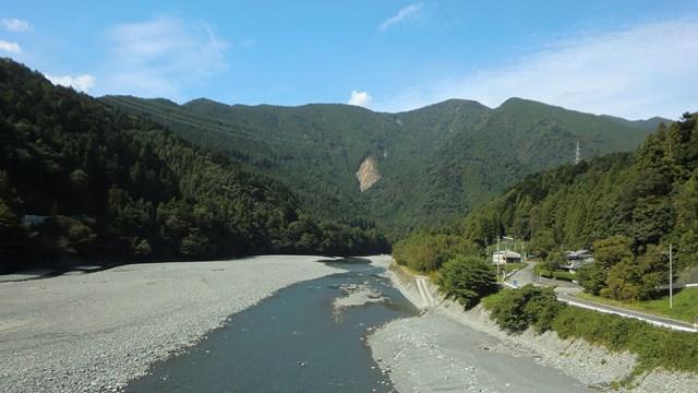 大井川の光景4
