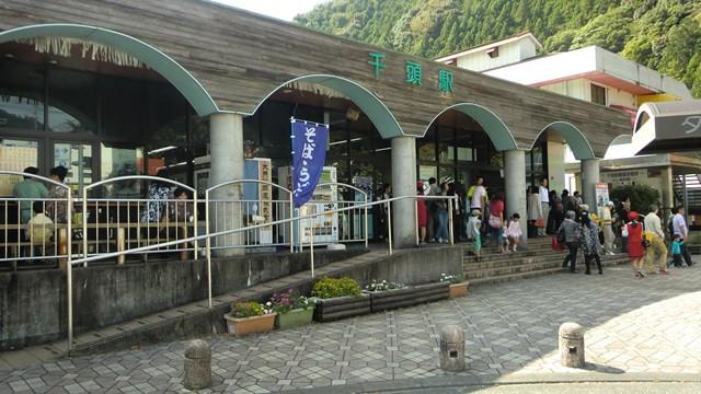 千頭駅の駅舎