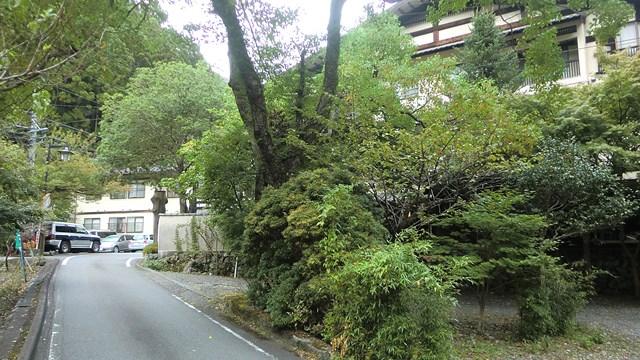 寸又峡温泉の路地2