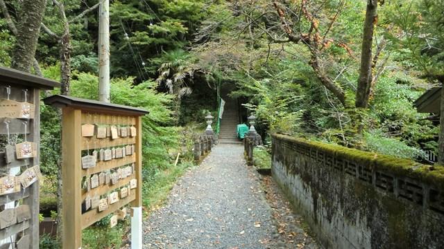 外森神社への入り口