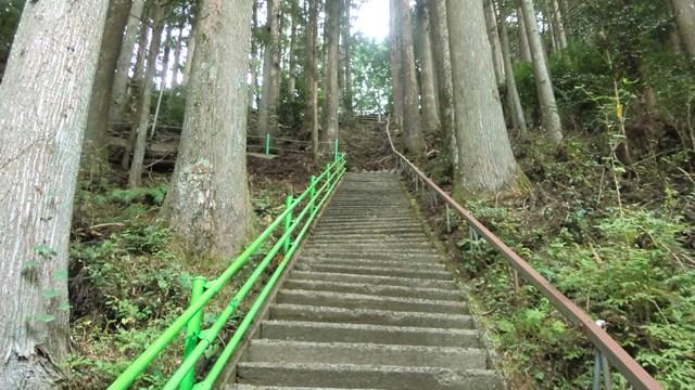 外森神社の階段
