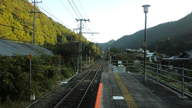 湯谷温泉駅ホーム