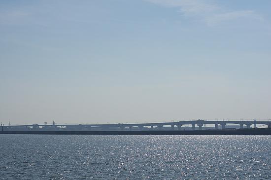 名鉄空港線の高架風景