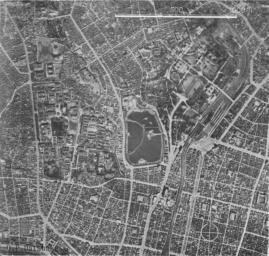 東京上野航空写真1